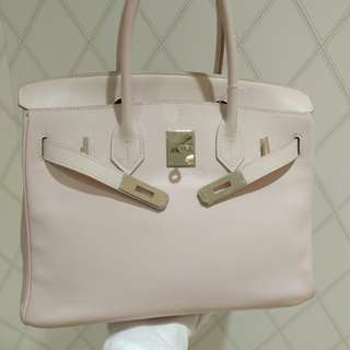 Hermes birkin 30 rose dragee