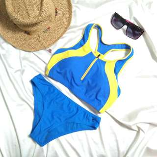 Racerback Padded Two Piece Swimsuit