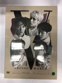 SHINee WORLD V IN SEOUL KOREA VER. DVD
