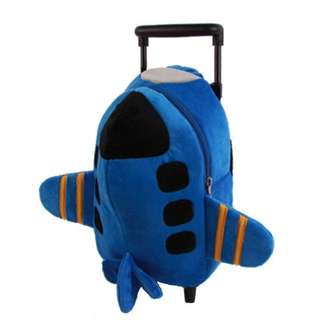 Aeroplane Trolley Bag for Toddlers
