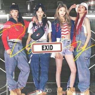 [Preorder] EXID-Single album
