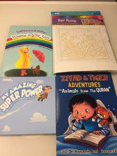 Children Books and Batik Kit