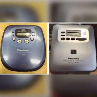 Panasonic CD機 Discman Walkman