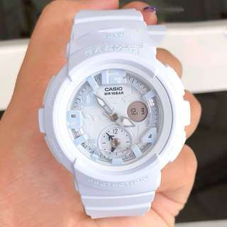 Authentic Brand New Casio Baby-G BGA-190BC-2A Blue Pastel Ladies Watch BGA-190BC-2 BGA190BC-2A BGA190BC-2 BGA-190BC-2ADR
