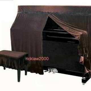 全冚式鋼琴套。連椅套。