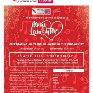 Music & Laughter Charity Concert