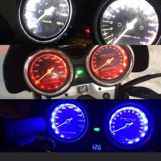 Led installation services for speedometer