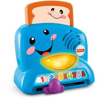 Fisher price toaster toy