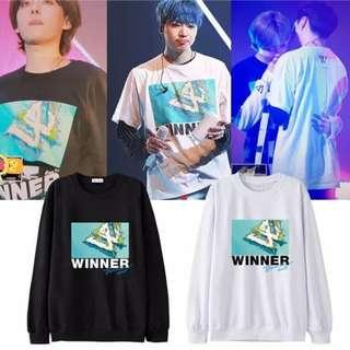 Preorder - WINNER Sweatshirt *S-3XL* exc.pos