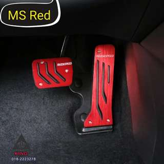 Mazda Speed  Sport Pedal Design Cover