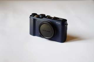 Fujifilm XA-1 / XA1 / X-A1 Body Only - Blue (not Sony, Canon, Nikon, Olympus, Leica) #mulaijualan