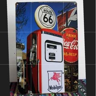 🚚 復古鐵皮畫可口可樂系統