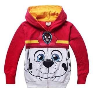 Paw Patrol hoodie jacket (preorder)