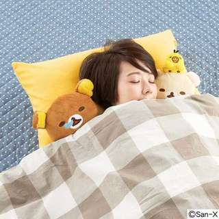 鬆弛熊枕頭套