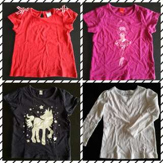 GAP, Gymboree & Esprit Tops