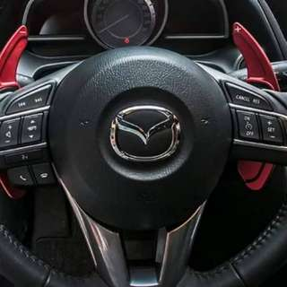 Mazda Aluminum Alloy Paddle Shift Design Cover