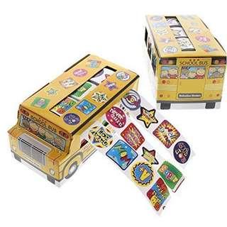✔️Reward Stickers Motivation Box (Bus)