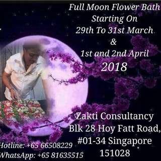 ZAKTI FULL MOON FLOWER BATH