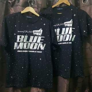 T-shirt bluemoon concert 2013.