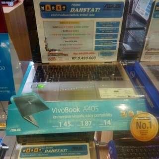 Asus vivobook A405UQ bisa di cicil