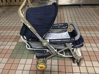 黃色小鴨 雙向嬰兒推車
