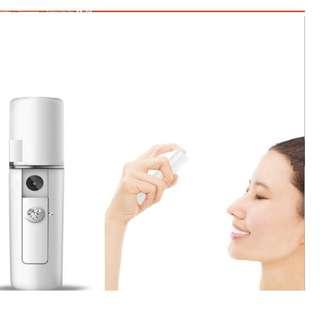 Facial Steamer beautify cleanse moisturizer mist sprayer Nano portable