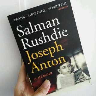 Joseph Anton - Salman Rushdie (buku impor)