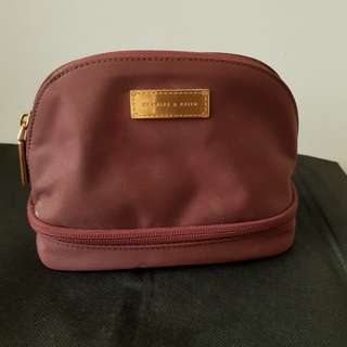 Charles and keith make up pouch