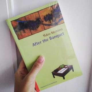 After the Banquet - Yukio Mishima (buku impor)