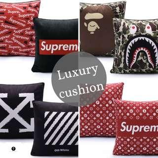 Supreme/ Bathing ape / Off White / kenzo / Fendi cushion