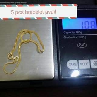 18k SD gold Bracelete