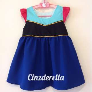 Brand New Disney Frozen Anna Girls Dress