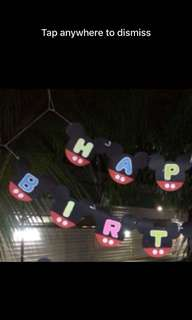 Thomas banner mickey mouse banner thomasCups