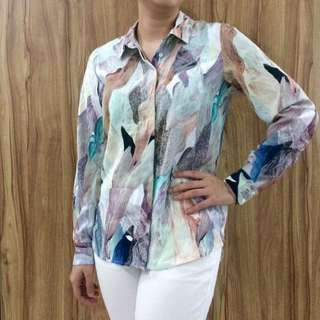 H&M Abstract Blouse