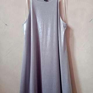Forever21 selver dress