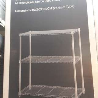 Rack stainless 3 susun ACE