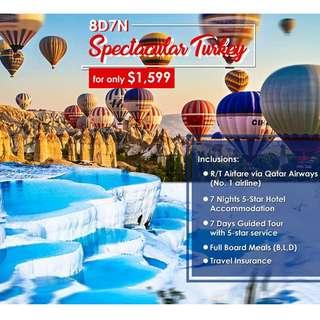 8D7N Spectacular Turykey