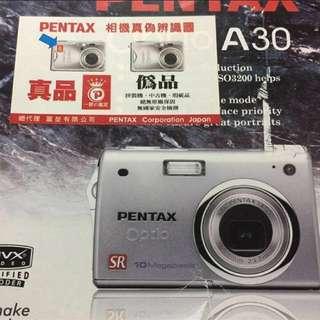🚚 PENTAX  A30新動的感覺給心動價