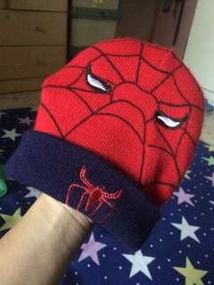 Baby cap spiderman