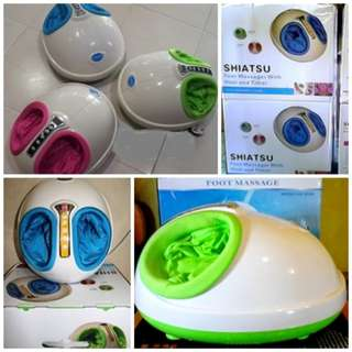 Foot Massager Dream Shiatsu Alat Terapi Pijat Kaki Akupuntur