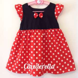 Brand New Disney Minnie Mouse Girls Dress
