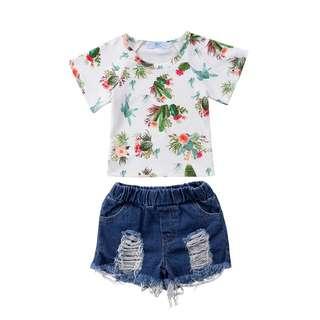 Girl Set Fashion Clothes