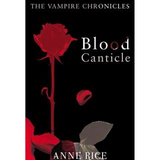 [eBook] Blood Canticle - Anne Rice