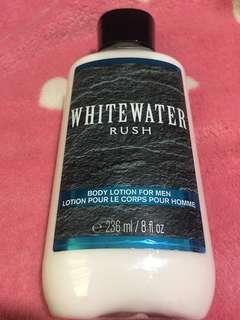 Whitewater Rush Body Lotion For Men
