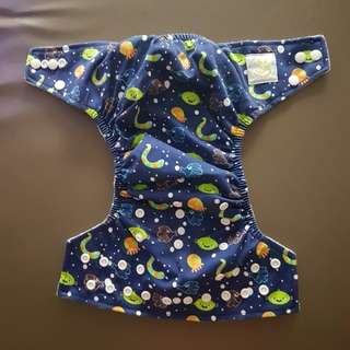 Baby leaf brand new cloth diaper (adjustable size)