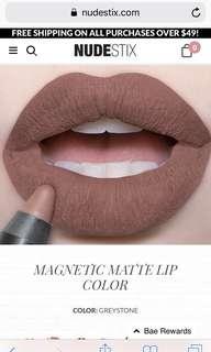 NUDESTIX Magnetic Matte Lip Colour (Greystone)