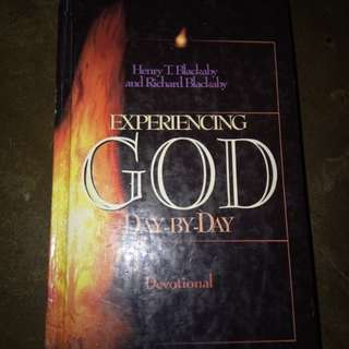 Experiencing God day by day(hardbound)