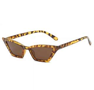 The Skinny Cat Shades - Leopard