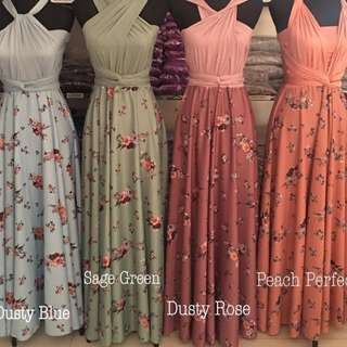 Floral Infinity DRESS