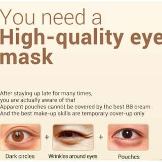 Gold&Collagen Eye Mask
